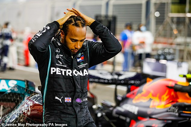 Hamilton is the third Formula 1 driver to test positive for Covid-19