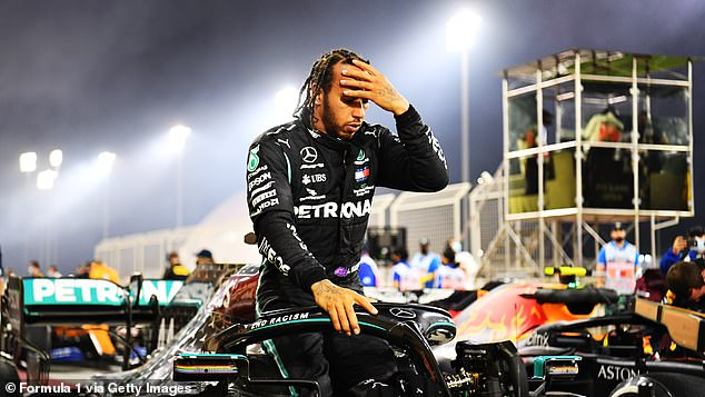 Lewis Hamilton has tested positive for the coronavirus and has had mild symptoms since Monday