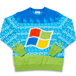 """<em> Windows 95 Ugly Sweater prominently features the redesigned Windows logo the operating system was launched with. </ em>""""/></noscript><br />             </a><br />             <span class="""