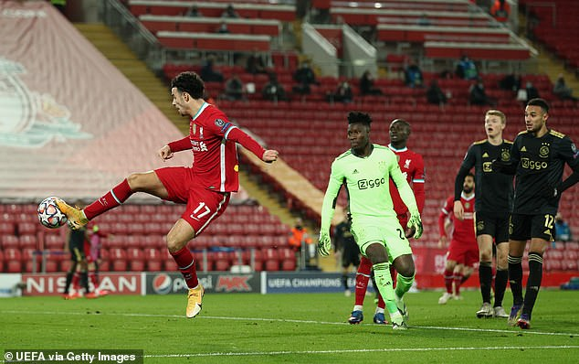 The young man maintained his composure to take advantage of a tight corner after Andre Onana's fatal mistake