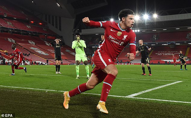 The Reds beat their Dutch rivals 1-0 thanks to a goal by Curtis Jones (over) in the second half
