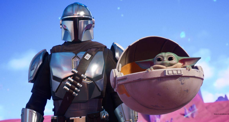 Fortnite Chapter 2: Season 5 adds Baby Yoda and Mandalorian
