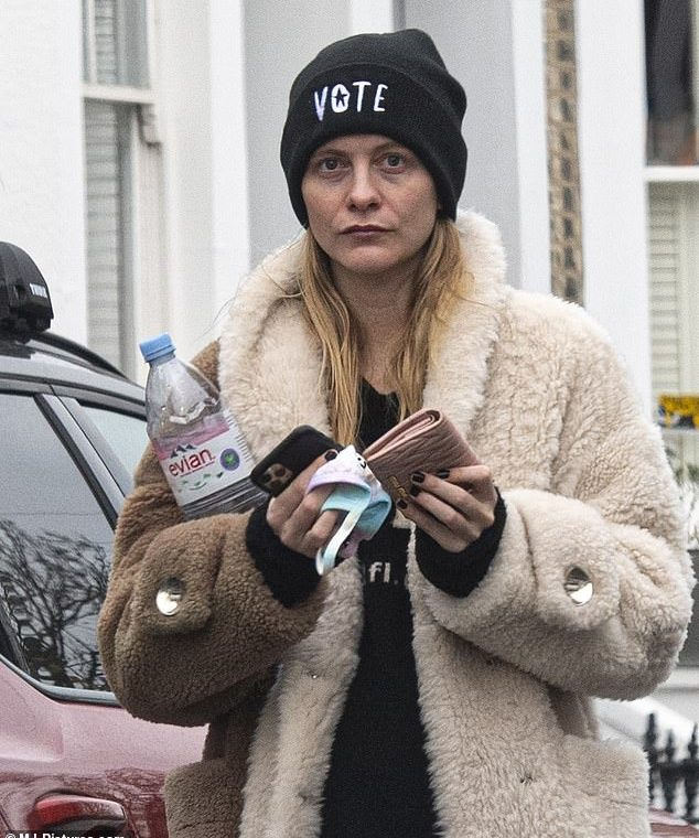 Still wine?  Sheepish Poppy Delevingne looked like she was feeling the effects of a Rita Ora concert breaking the lockdown as she became the first guest to break the cap on Wednesday