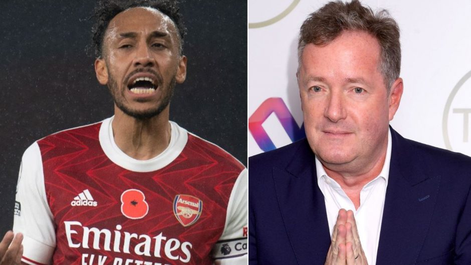 "Pierre Emerick Aubameyang: The body language of the Arsenal captain is ""worrisome"", Piers Morgan 