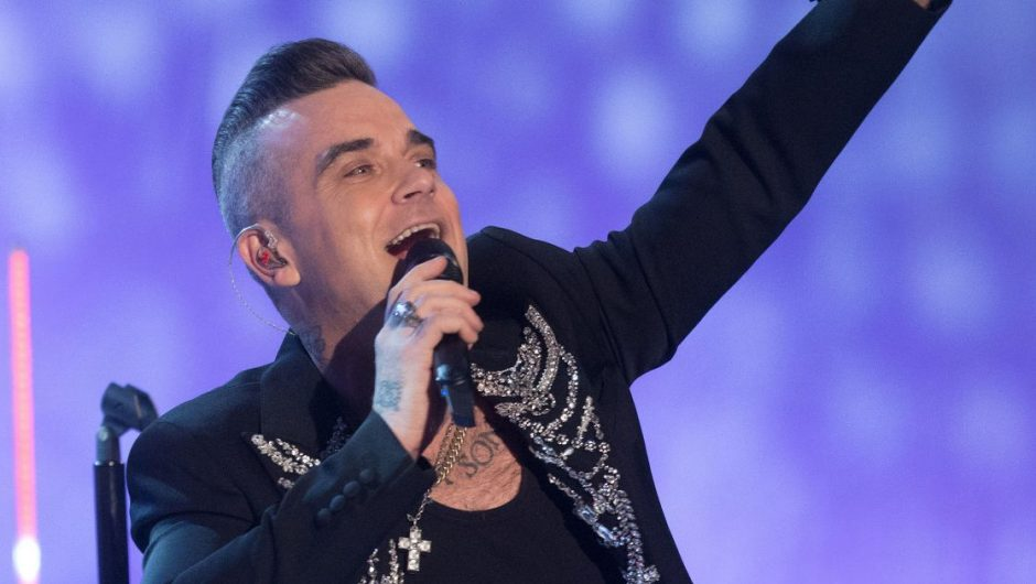 Robbie Williams formed a new band for Rives 25 years after leaving Take That