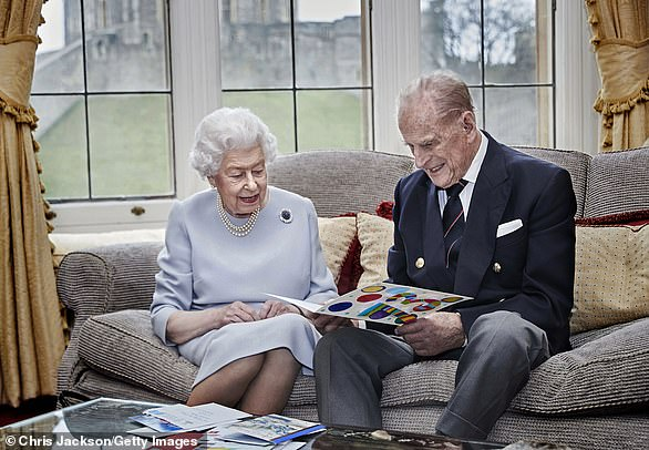 The Queen and the Duke of Edinburgh, who will spend Christmas `` quietly '' in Windsor Castle this year, will not personally hand out gifts to the royal staff, as has been the tradition throughout the reign of the 94-year-old king