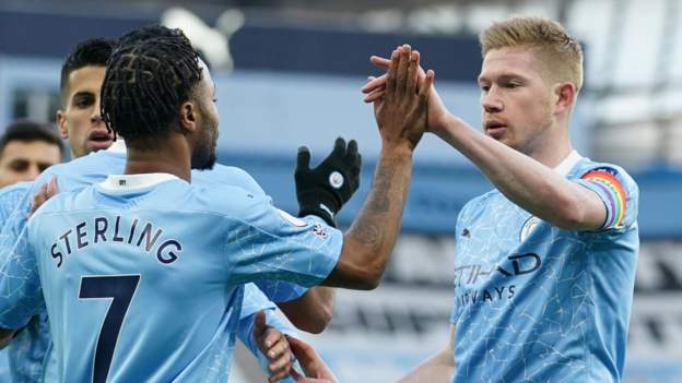 Man City is fourth, after defeating Fulham