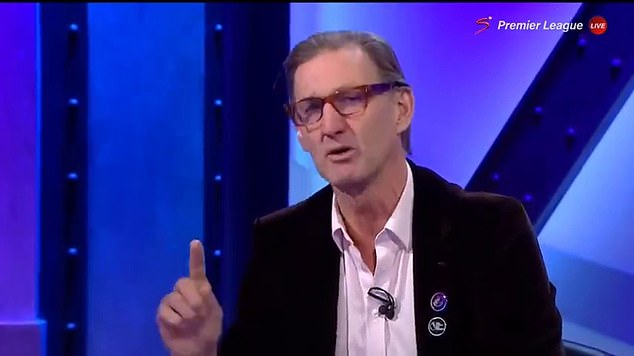 Tony Adams criticized the full-back after the match, saying he needed to learn