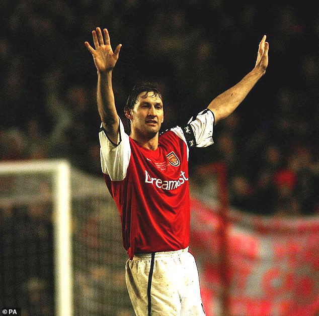 Adams himself was a giant defender during his 22-year career with Arsenal