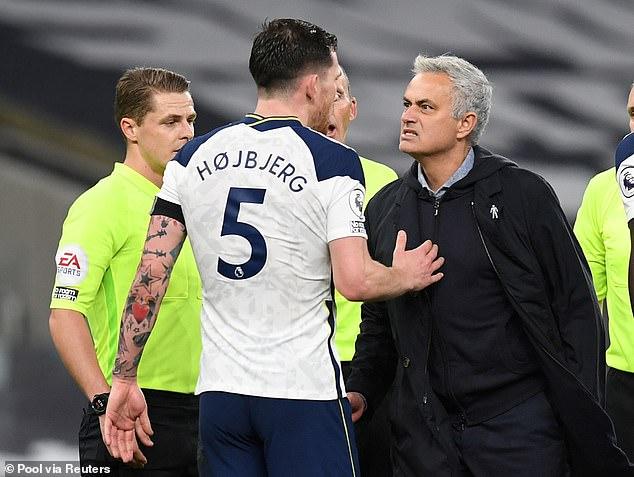 Danish midfielder Hogeberg made a strong start at Tottenham under Jose Mourinho