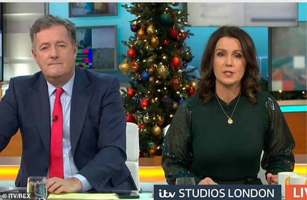 Good Morning Britain hosts, Piers Morgan and Susanna, spoke to Matt Hancock Tuesday
