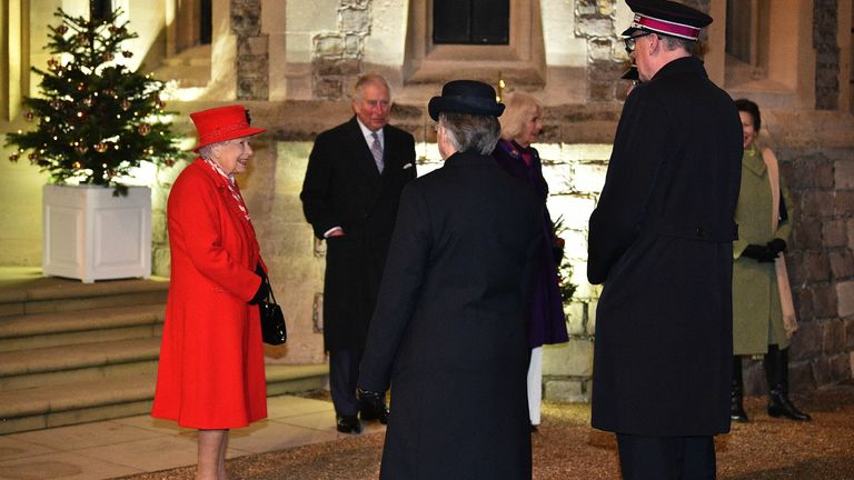The Queen meets members of the Salvation Army