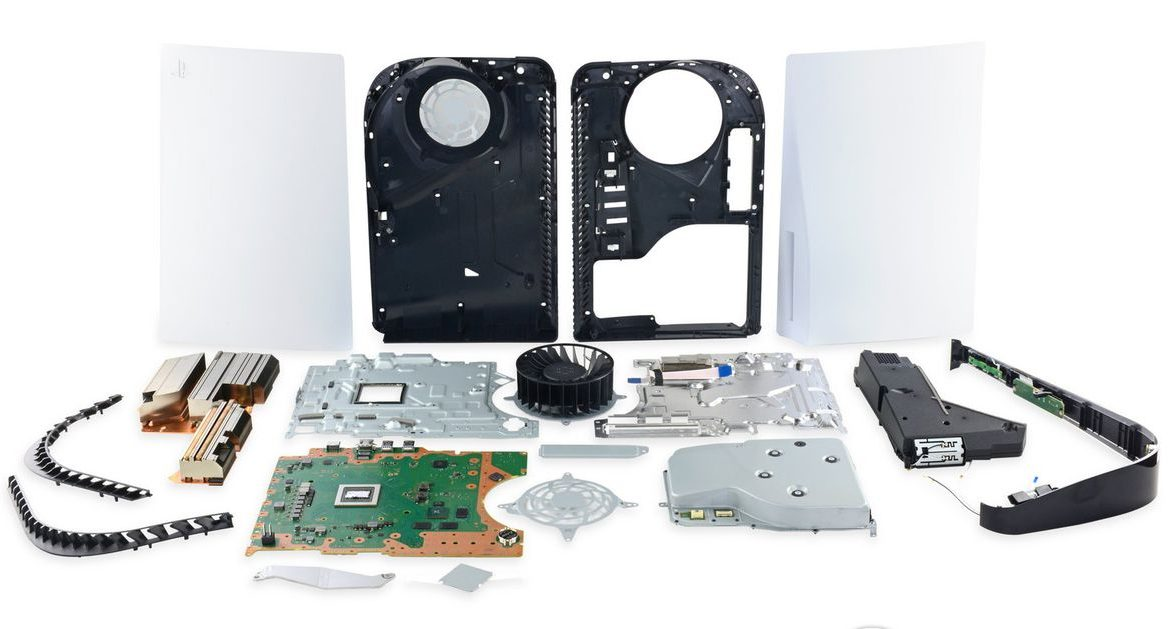 Get another glimpse inside the PlayStation 5 with the new iFixit unpack