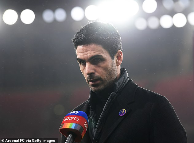 Arsenal coach Mikel Arteta left another loss as his club's disappointing start continued