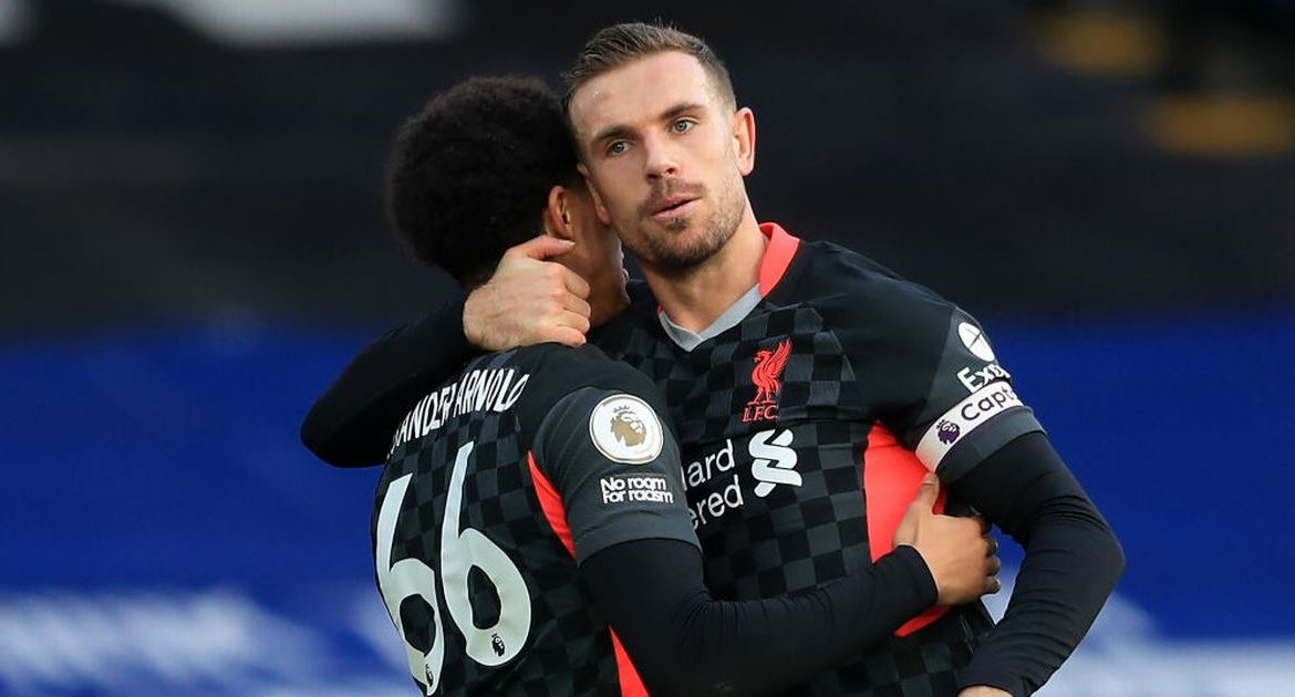 Trent Alexander-Arnold responded to Jordan Henderson's statement to prove Liverpool's confidence