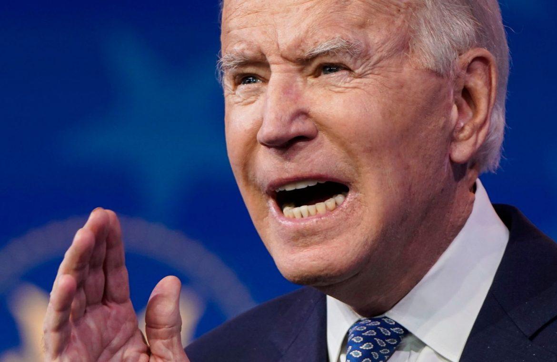 Joe Biden said the US government had been hacked on Donald Trump's watch
