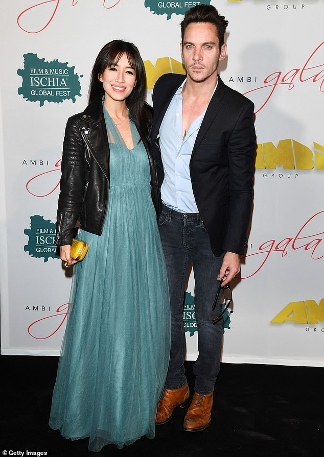 Troubled Times: The role of the new movie comes just one month after the Irish-born actor was charged with a DUI charge after his car crashed in Malibu and failed a sobriety field test where he was arrested and imprisoned;  Pictured with Lyn in 2016