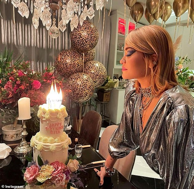 Shocking: Rita was forced to publicly apologize after it emerged that she hosted a 30th birthday party in a London restaurant while the country was in lockdown.