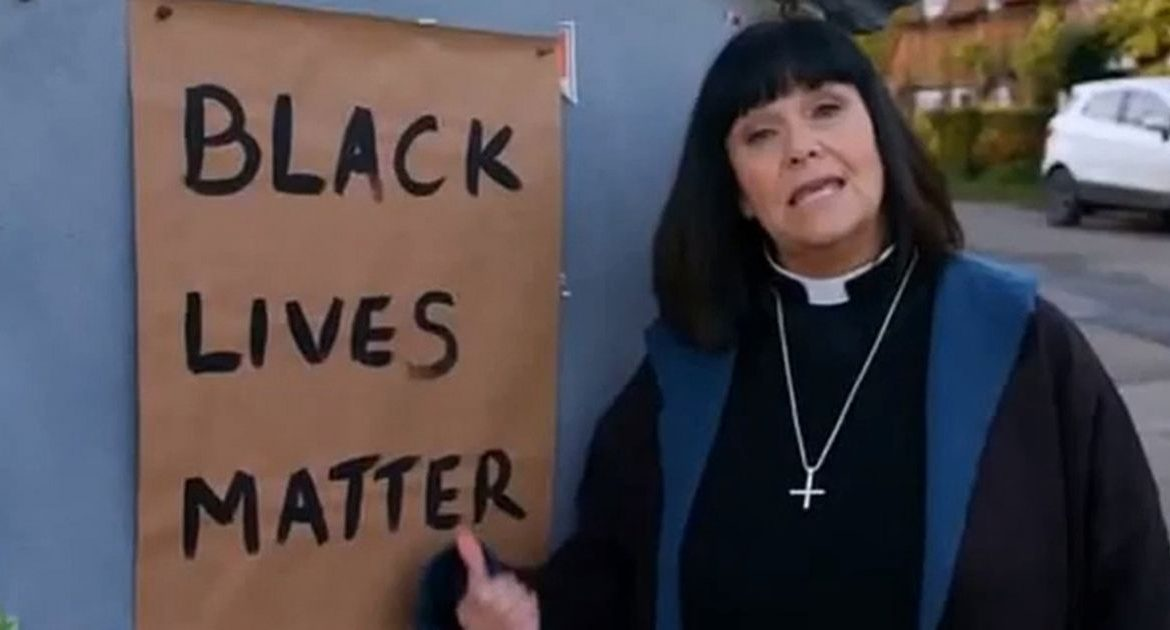 The BBC has received hundreds of complaints about Vice Debly's sketch titled Black Lives Matter