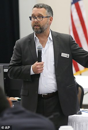 On Tuesday, Eric Kummer, Dominion's director of security, filed a defamation lawsuit against the Trump campaign, saying death threats had pushed him into hiding.