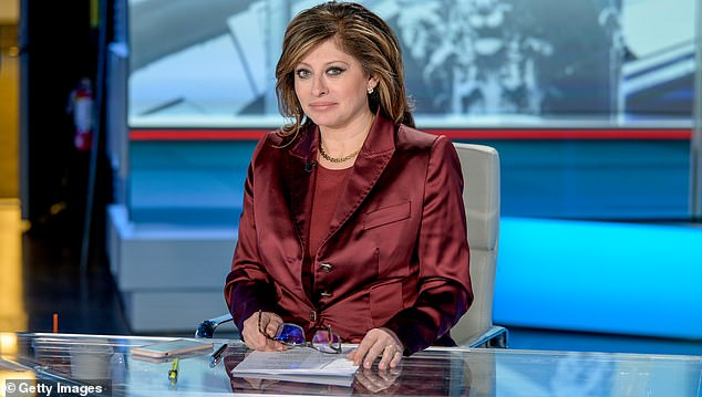 Fox Business presenter Maria Bartiromo has been warned to 'stop and abstain' from making libelous allegations accusing Dominion of stealing the election from President Donald Trump