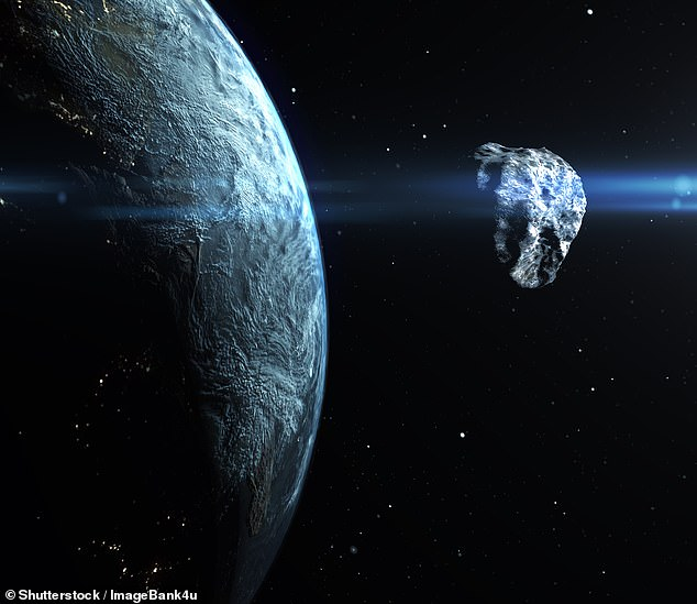 A NEO is an asteroid or comet that its orbit brings to or through an area located between about 91 million and 121 million miles (195 million km) from the sun, which means that it can pass within 30 million miles (50 million km) of Earth's orbit. (Stock image)