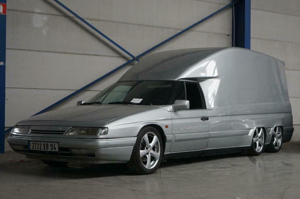 Citroën XM Tissier - six wheels and a huge cargo space, all for € 22,500 - French.pl - Dziennik Motoryzacyjny