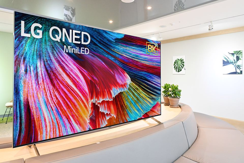 LG TVs with arrays of a new kind