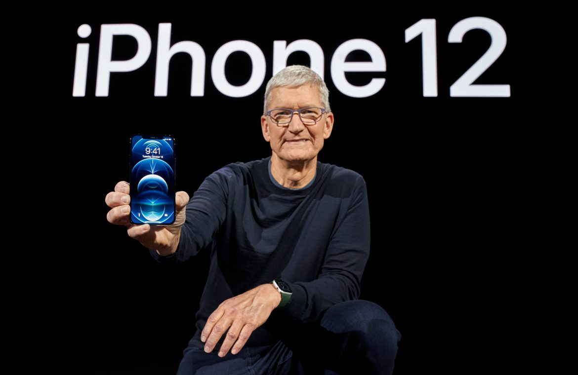 Apple stock rises to the level of a report that it will boost iPhone production by 30% in 2021