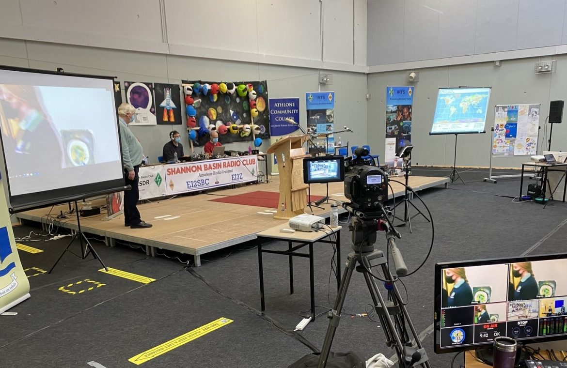 Athlone students communicate with the space station