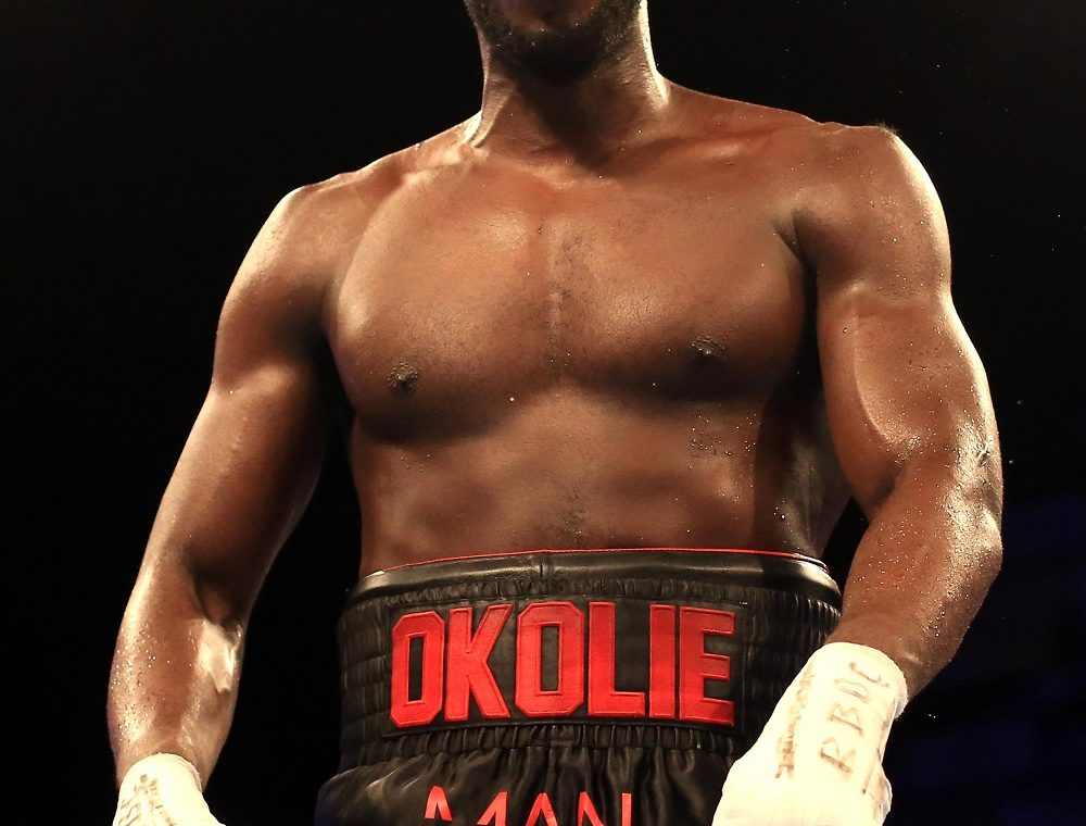Box.  Party in London.  Lawrence Okoli announced the knockout on Nikodim Yuzhievsky
