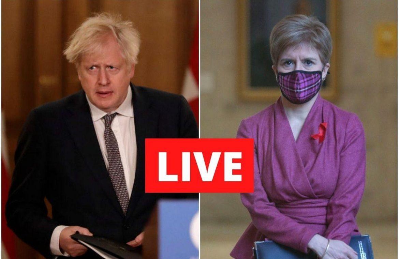 Coronavirus Live Briefing, Nicola Sturgeon: Complete lockdown to mainland Scotland