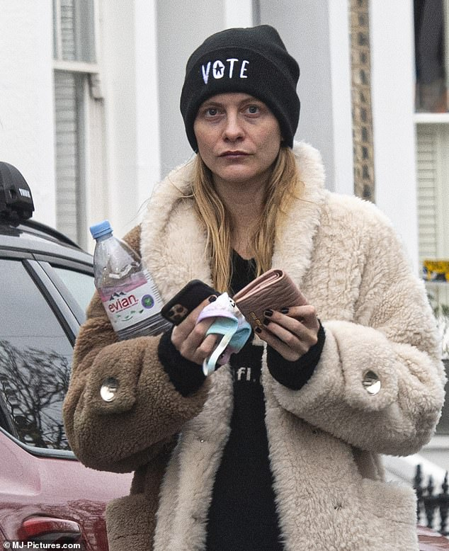 Still wine?  Sheepish Poppy Delevingne looked like she was feeling the effects of a Rita Ora concert that broke the lockdown closures as she became the first guest to break the cap on Wednesday