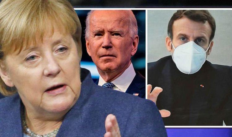 "European Union split: Biden stirs up controversy in Brussels after Merkel left Macron ""fragile""    The world    News"