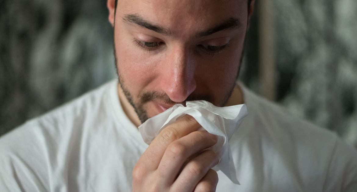 Researchers said the new symptoms could be an early sign of Covid-19