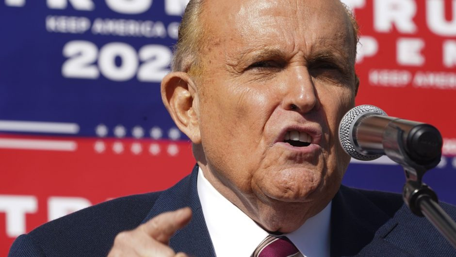 Rudy Giuliani is reported to be seeking pardon from Donald Trump
