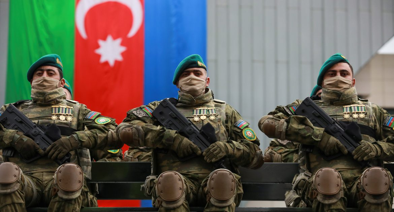 Azerbaijan Holds Military Parade to Mark Success in Nagorno-Karabakh War