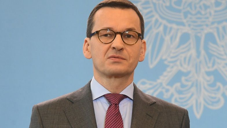 United kingdom.  Truck lines at the border.  Morawiecki: It could be done better