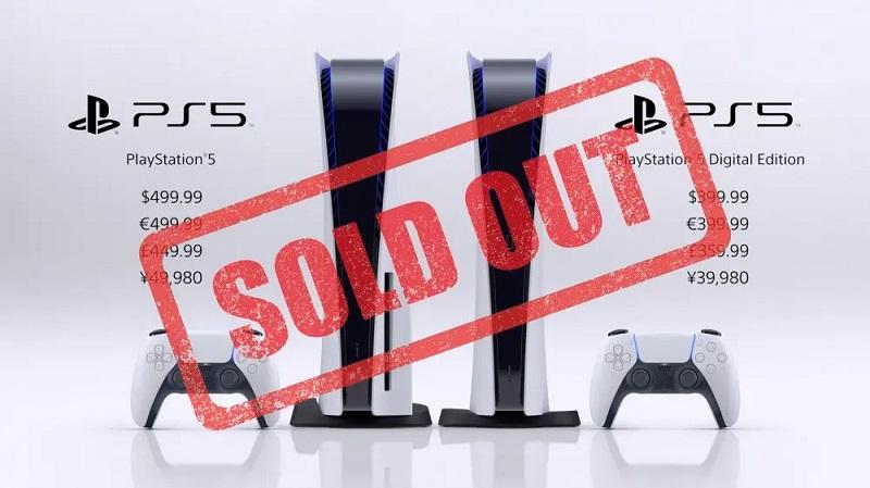 PS5 availability