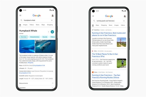 The mobile version will be updated from Google Search