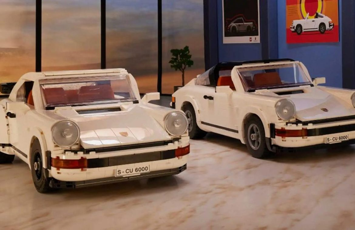 LEGO's new classic Porsche 911 kit is impressively detailed