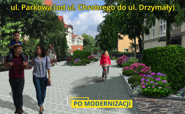 Construction of the woonerf began in Sopot.  It will be the largest in Poland