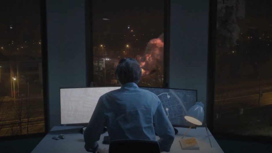 911 Operator - Polish interactive film interactive film;  See the trailer