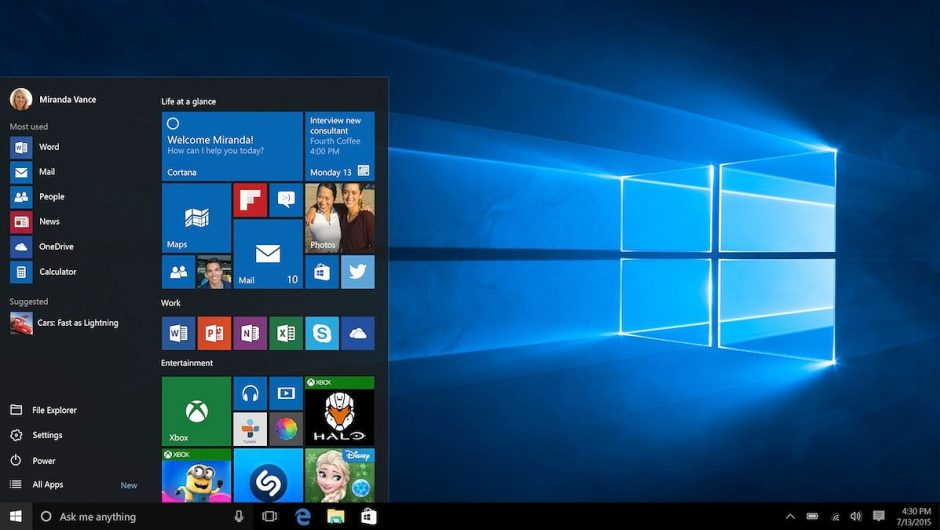 A bug has been detected in Windows 10 that may corrupt your hard drive.  Microsoft is preparing the patch