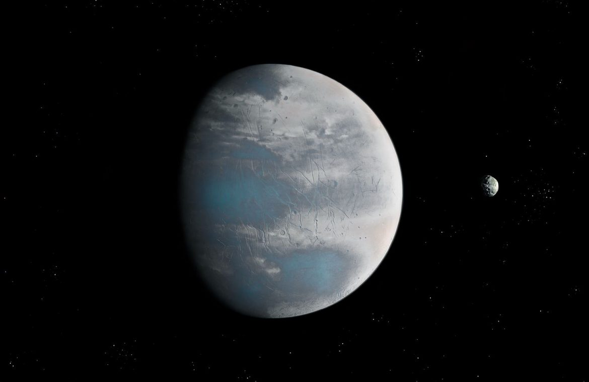 Astronomers found a giant Earth.  Let's not raise our hopes