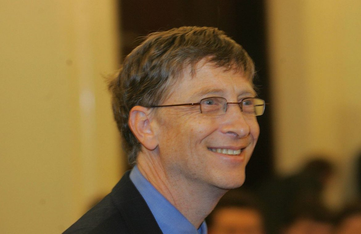 Bill Gates is the largest owner of farmland in the United States.  100 thousand hectares in 18 states