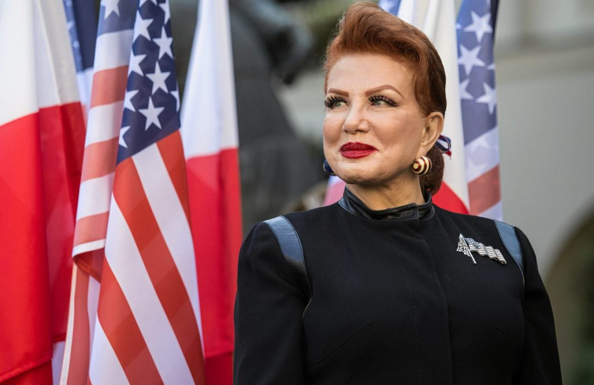 Georgette Mossbacher says goodbye to Poland.  The moving voice of an American ambassador shivered [WIDEO] |  Policy