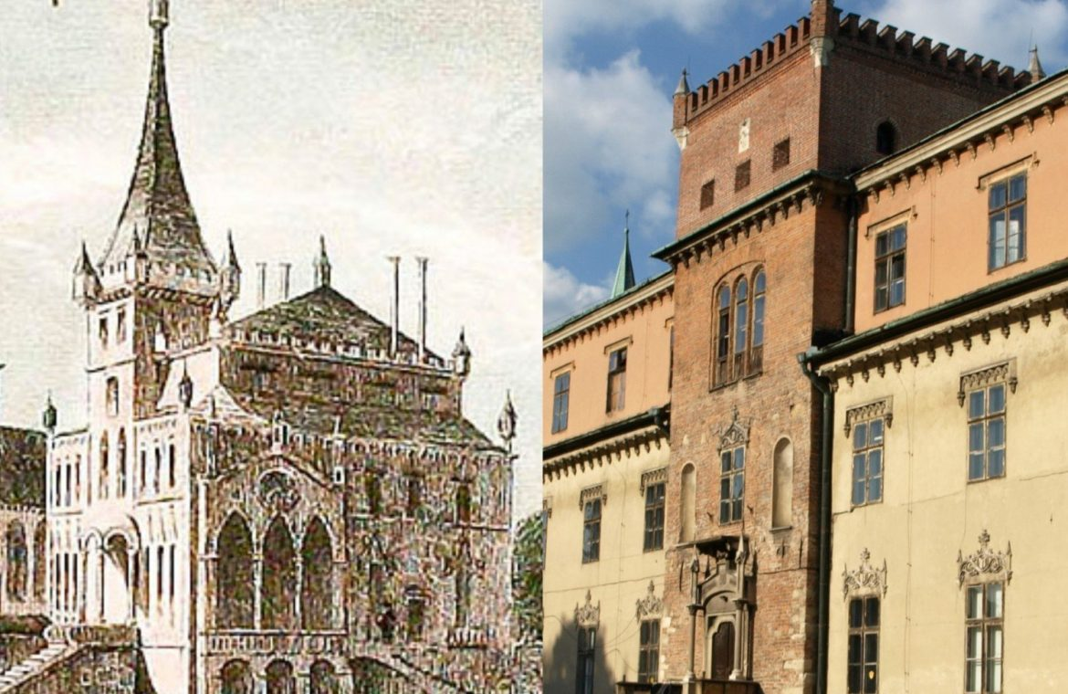 History of the castle in Zator.  The seat of notable families throughout the centuries in Archival Photographs [GALERIA]