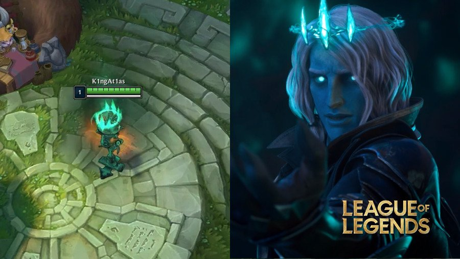 How can a Viego turn into a training doll?  The new character in LoL is amazing