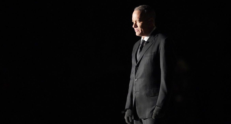 Joe Biden is sworn in.  Tom Hanks' strong performance